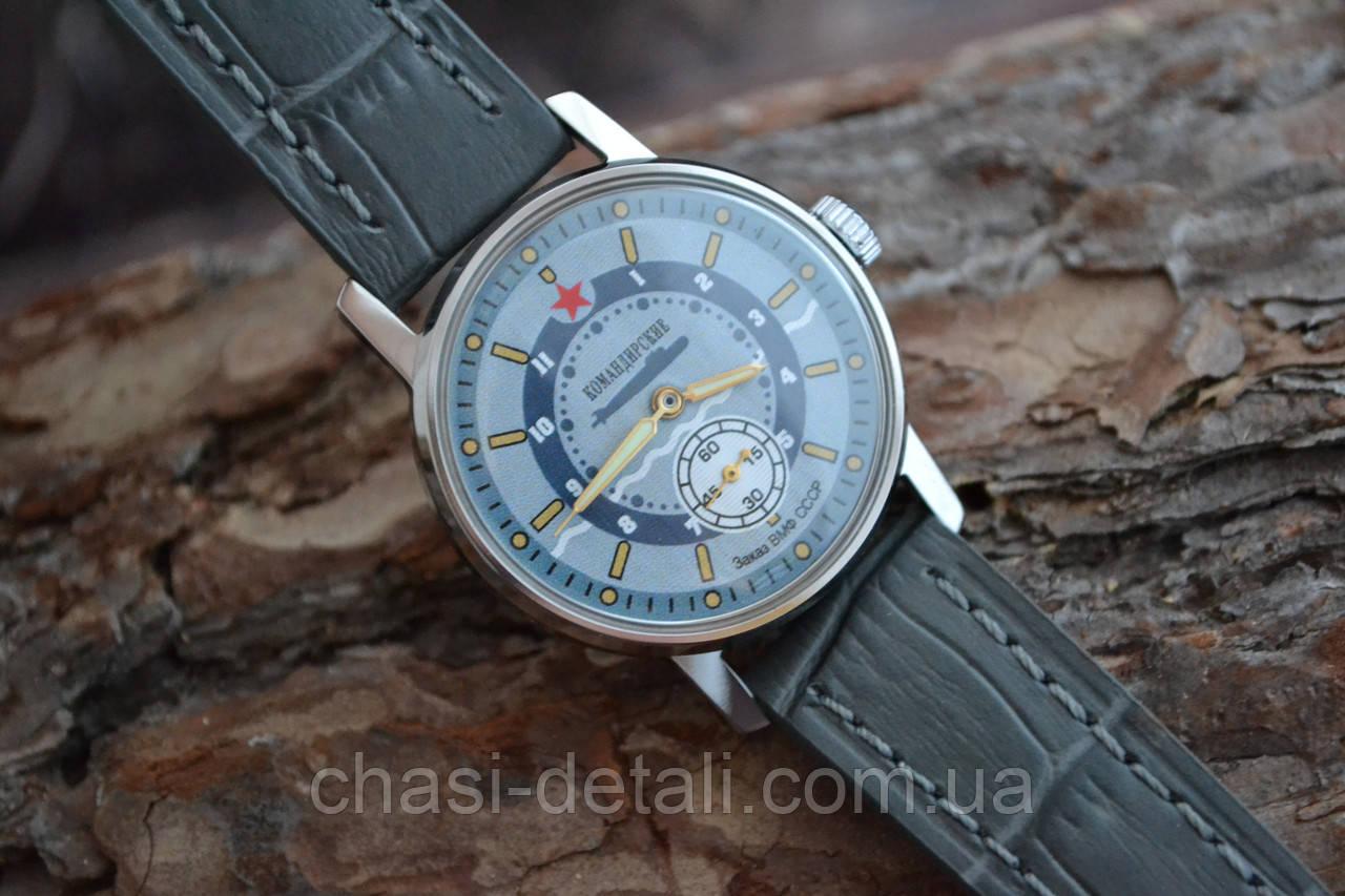Часы Победа Командирские,наручные. Механизм советский. Корпус новый.