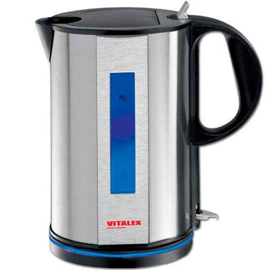 Электрический чайник Vitalex VT-2023, электрочайник 1,5 л, компактный электрочайник для дома