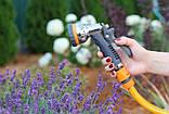 Пистолет для полива Presto-PS насадка на шланг металл (7204D), фото 3