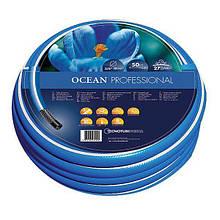 Шланг садовий Tecnotubi Ocean для поливу діаметр 3/4 дюйма, довжина 50 м (OC 3/4 50)