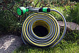 Шланг садовый Tecnotubi Retin Professional для полива диаметр 3/4 дюйма, длина 25 м (RT 3/4 25), фото 5