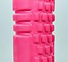 Ролик для йоги, пилатеса, фитнеса Grid Combi Roller 30х9см  розовый FI-0457, фото 3