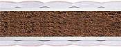 Матрас детский Тедди кокос (Teddy kokos) 60x120 см