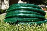 Шланг садовий Tecnotubi Euro Guip Green для поливу діаметр 5/8 дюйма, довжина 25 м (EGG 5/8 25), фото 4