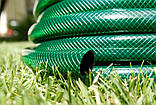 Шланг садовий Tecnotubi Euro Guip Green для поливу діаметр 5/8 дюйма, довжина 25 м (EGG 5/8 25), фото 5