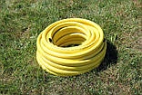Шланг садовий Tecnotubi Euro Guip Yellow для поливу діаметр 1/2 дюйма, довжина 25 м (EGY 1/2 25), фото 3