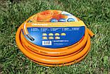Шланг садовий Tecnotubi Orange Professional для поливу діаметр 1 дюйм, довжина 50 м (OR 1 50), фото 2