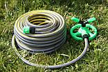 Шланг садовый Tecnotubi Retin Professional для полива диаметр 1/2 дюйма, длина 50 м (RT 1/2 50), фото 7