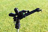 Дощуватель Presto-PS зрошувач імпульсний Big на 2 форсунки з різьбленням 1,1/2 дюйма (6011), фото 3
