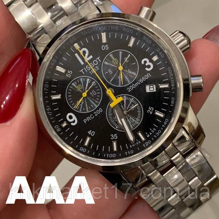 Tissot T-Sport PRC 200 Chronograph Silver-Black-Yellow