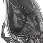 Мужская сумка из натуральной кожи без клапана, большая, фото 4
