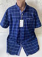 Мужские турецкие рубашки шведки больших размеров, фото 1
