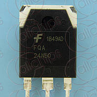 MOSFET N-канал 500В 24А Fairchild FQA24N50 TO3PN