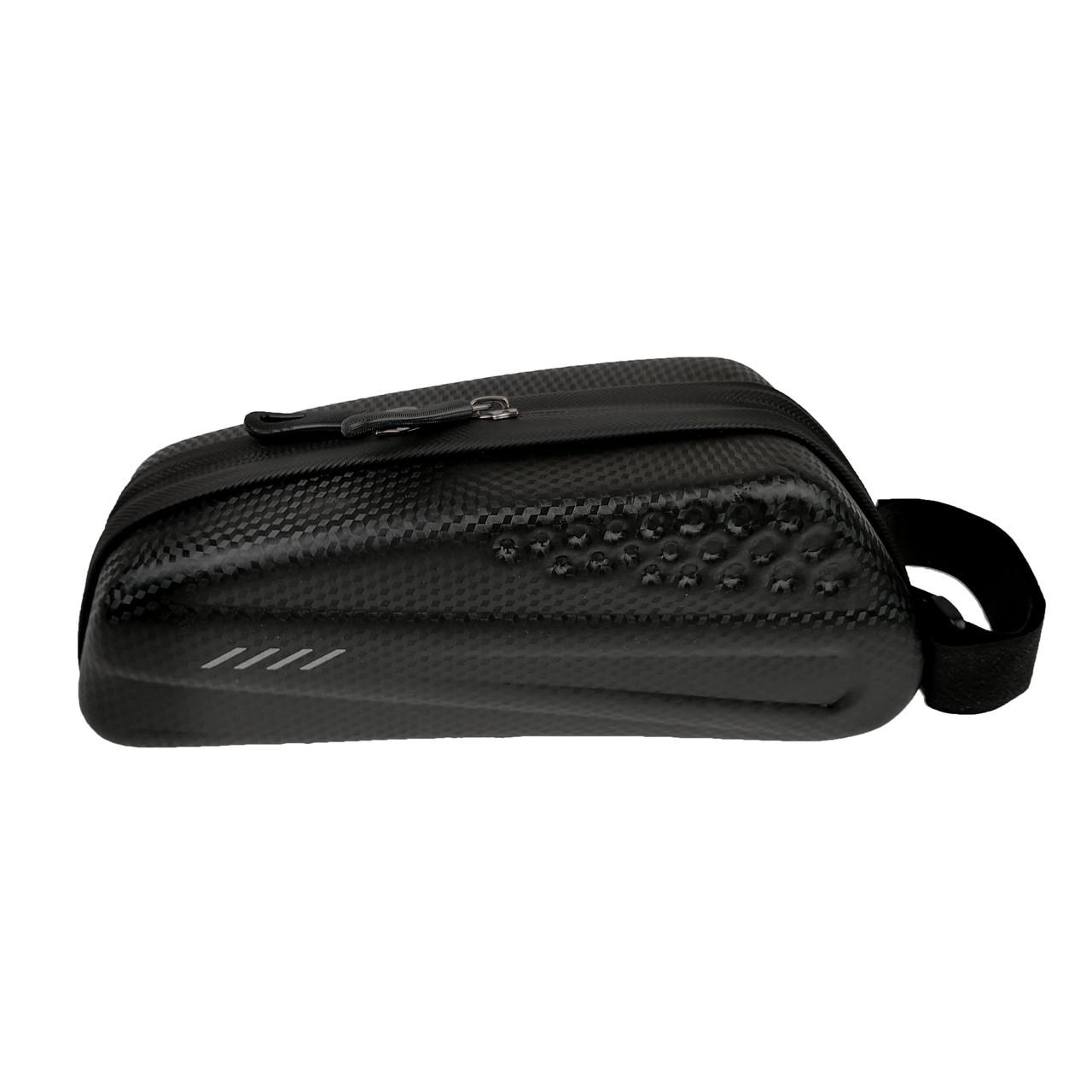 Велосипедная сумка на раму черная