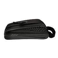 Велосипедная сумка на раму черная, фото 1