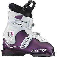 Горнолыжные ботинки детские Salomon T2 GIRLIE RT PURPLE TRANSLUCENT/white (MD)