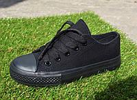 Детские кеды Converse All Star черные 30 - 36, копия, фото 1