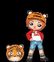 Тигренок - мальчик! Na! Na! Na! Модная кукла Оригинал и плюш (565987), фото 1