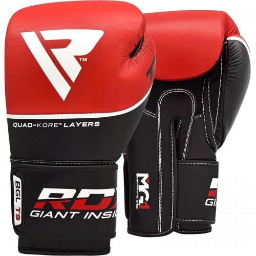 Боксерские перчатки RDX Quad Kore Red 16 ун.