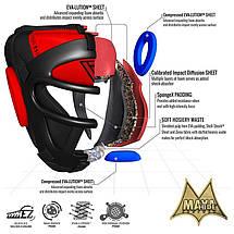 Боксерський шолом тренувальний RDX Guard M, фото 3