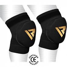 Наколенники для волейбола RDX Black (2 шт.) L