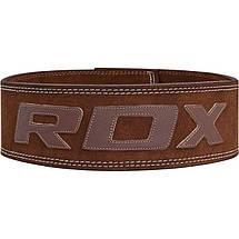 Пояс для тяжелой атлетики RDX Elite M, фото 2
