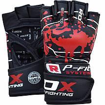 Перчатки ММА RDX Blood M, фото 3