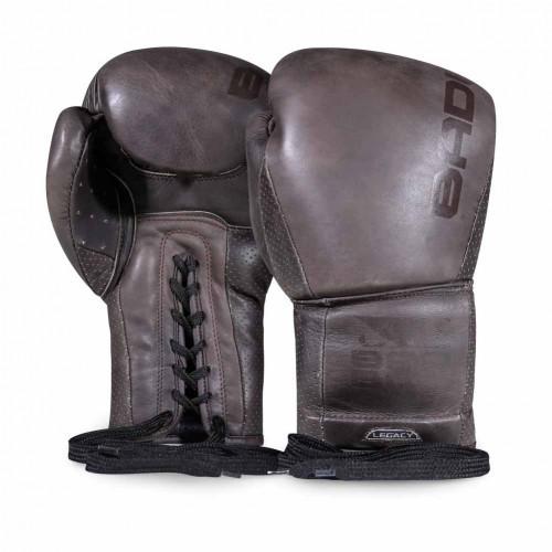 Боксерські рукавички Bad Boy Legacy 2.0 Lace Up Brown 10 ун.
