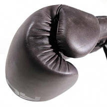 Боксерські рукавички Bad Boy Legacy 2.0 Lace Up Brown 10 ун., фото 2