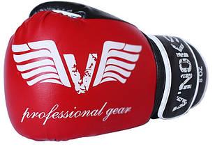 Боксерські рукавички V'Noks Lotta Red 12 ун., фото 3