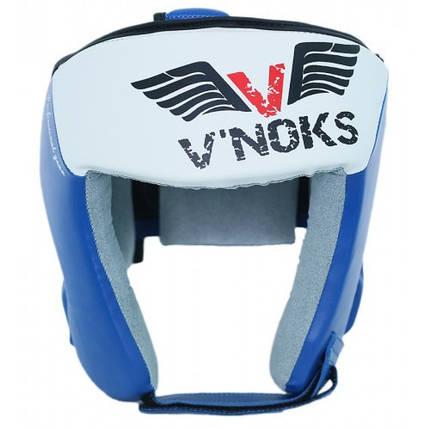 Боксерский шлем V`Noks Lotta Blue XL, фото 2