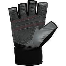 Перчатки для фитнеса RDX Pro Lift Black XL, фото 2