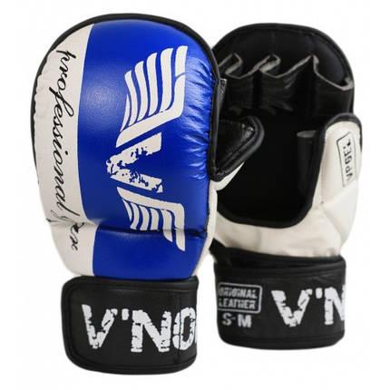 Перчатки MMA V`Noks Lotta Blue L/XL, фото 2