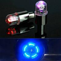 Светящиеся светодиодные колпачек на нипель колеса с диодной подсветкой TYER LED K-WH