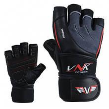 Рукавички для фітнесу VNK SGRIP Grey M