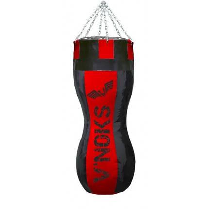 Боксерский мешок силуэт V`Noks Gel Red 1,1 м (50-60 кг), фото 2