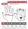 Перчатки для фитнеса RDX S2 Leather Black M, фото 5