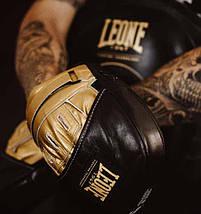 Боксерські лапи Leone Power Line Black (пара), фото 3