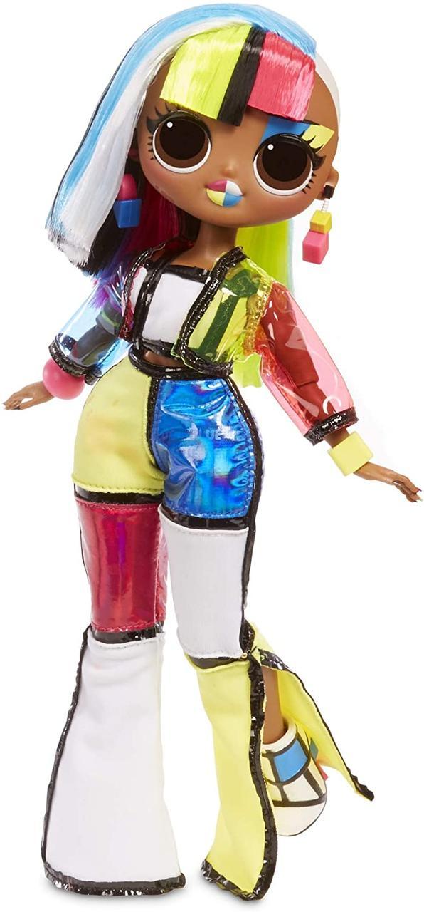 Оригинальная Кукла ЛОЛ Ангел ОМГ серия Неоновые Огни (565178) (6900006539792)