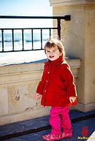 Пальто для девочки с беретиком, фото 1