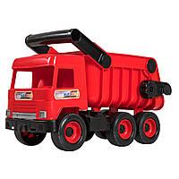 Самосвал игрушечный красный Middle truck