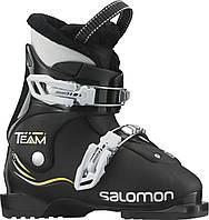 Горнолыжные ботинки детские Salomon TEAM T3 BLACK/BLACK (MD)