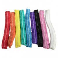 Разноцветные одноразовые шапочки гармошка (одуванчик), 100 шт