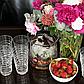Набор стаканов Паутинка Sakura SK-2082 - 2 шт 500 мл, фото 2