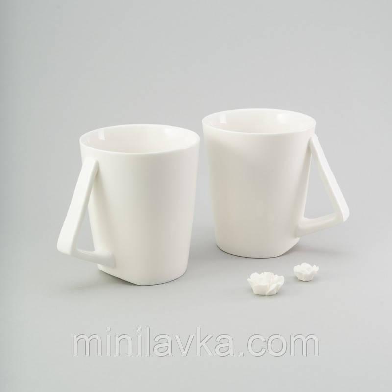Набор чашек Herisson EZ-2313 - 2 шт. 200 мл. керамика