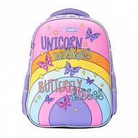 Школьный рюкзак с единорогом для первоклассника (для девочки): 1-4 класс, 14 л