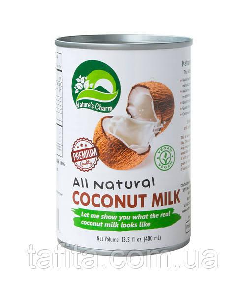 Натуральное кокосовое молоко 400 г премиум