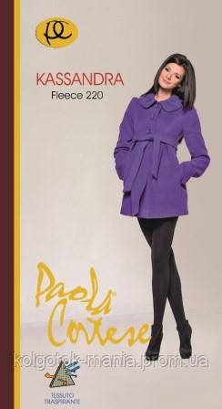 "Женские колготки  Paola Cortese ""Kassandra 220 den"" FLEECE, 5 р"
