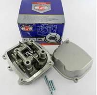 Головка цилиндра Cкутер 80см3 47mm в сборе +крышка SEE. Тайвань.