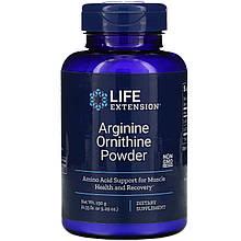 """Аргінін і орнітін Life Extension """"Arginine Ornithine Powder"""" (150 г)"""